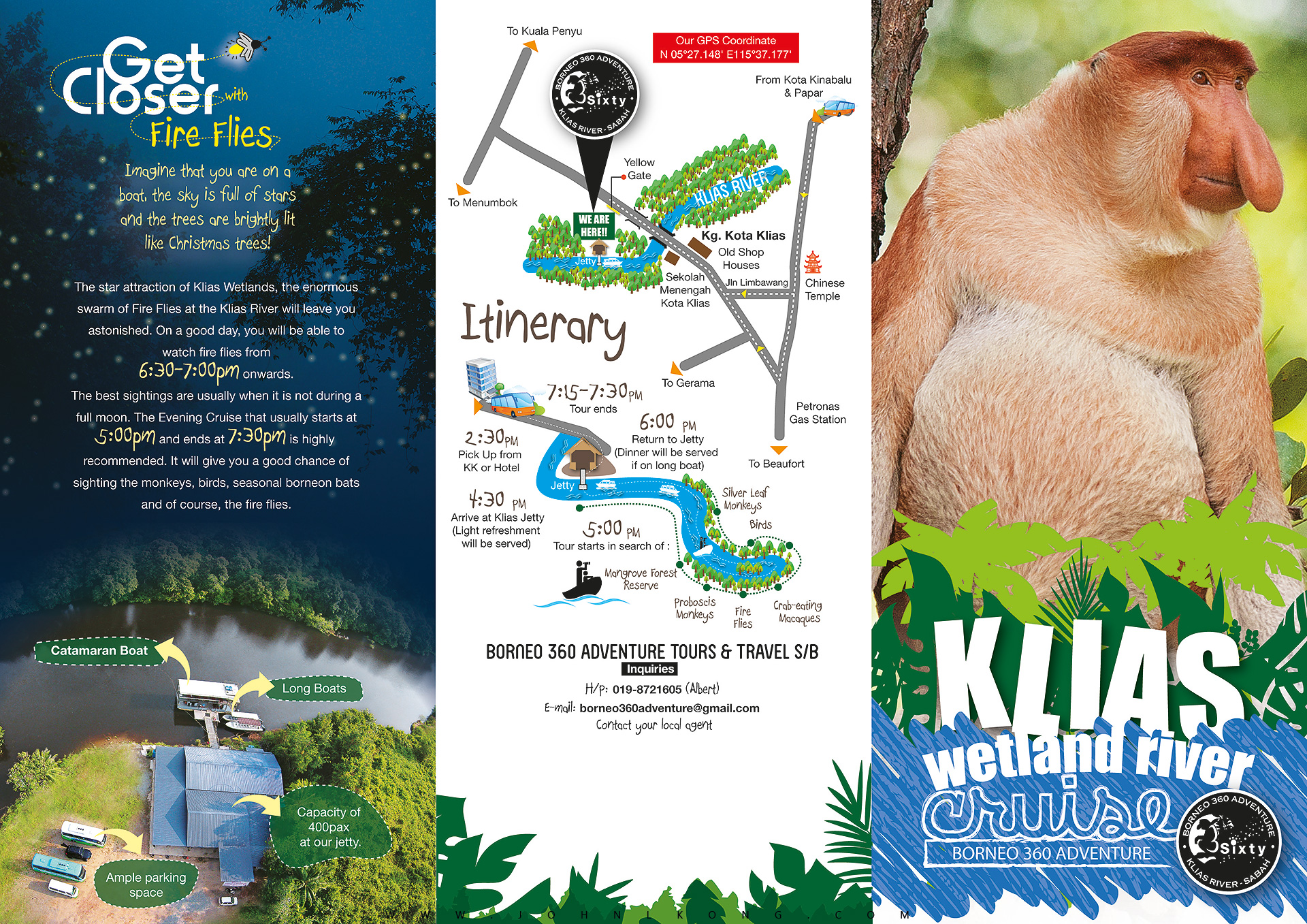 In Touch With Wildlife Just 90 Mins Drive from Kota Kinabalu