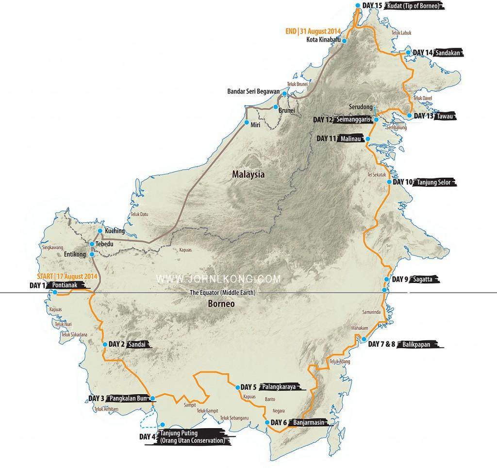 transborneo_route_map
