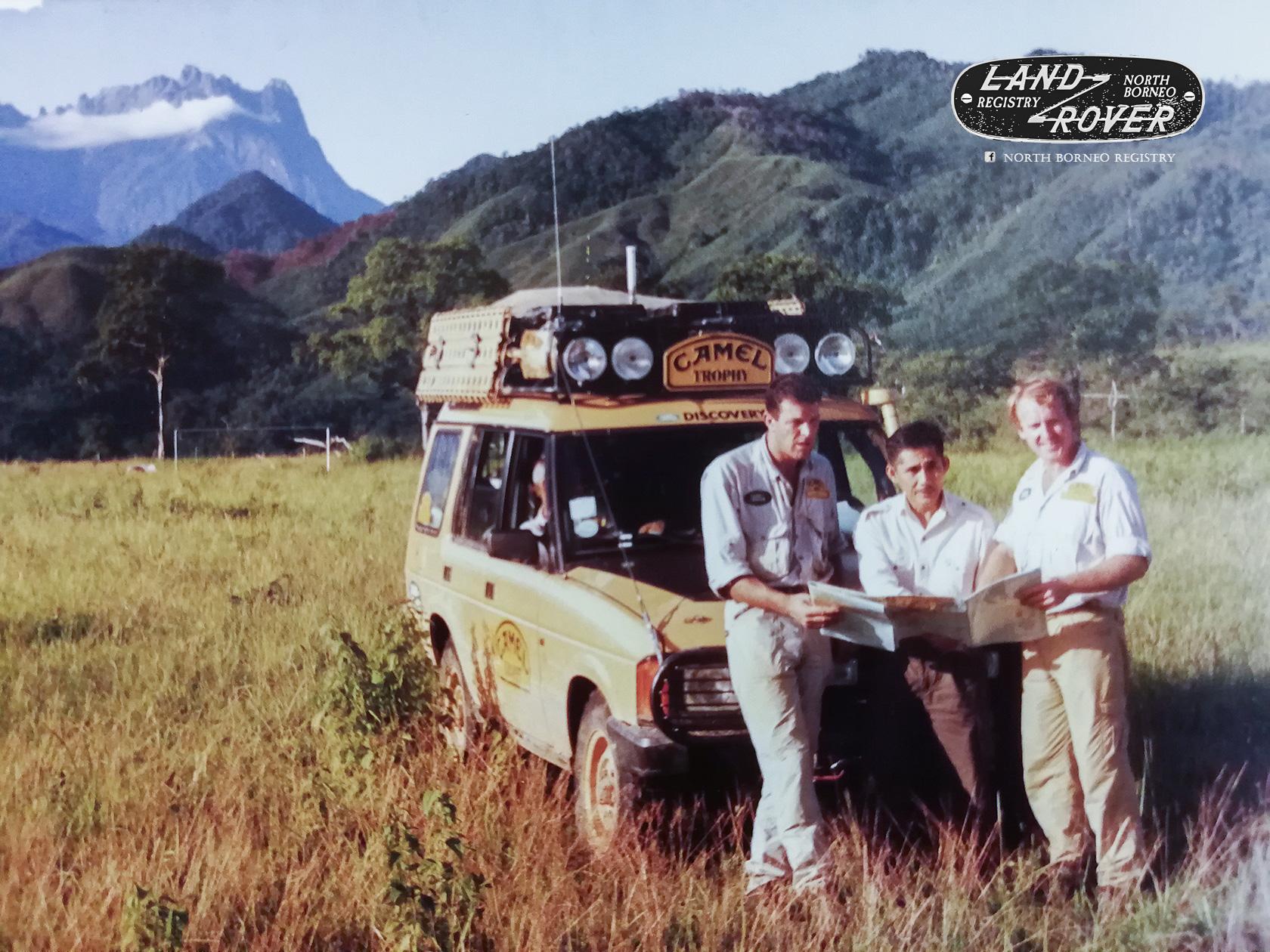 tengku adlin & the sabah camel trophy 1993 | john kong