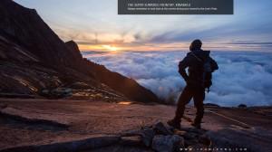 Enjoying the Majestic Sunrise of Mt. Kinabalu