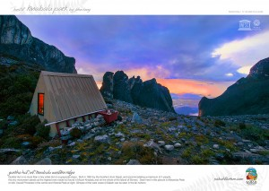 Gurkha Hut, The Tallest Mountain Hut in Borneo